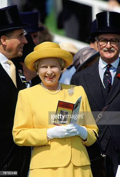 Queen Elizabeth II at The Epsom Derby