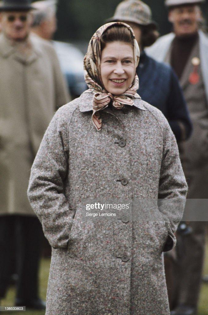 Queen Elizabeth II at Windsor circa 1975