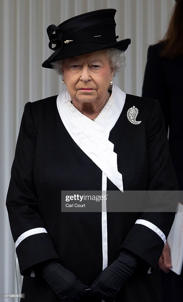 Queen Elizabeth II attends a commemorative ceremony marking the centenary of the Gallipoli campaign on April 25, 2015 in London, England. The Gallipoli land campaign, in which a combined Allied force of British, French, Australian, New Zealand and Indian troops sought to occupy the Gallipoli peninsula and the strategic Dardanelles strait during World War I, began on April 25, 1915 against Turkish forces of the Ottoman Empire. The Allies, unable to advance more than a few kilometers, withdrew after eight months. The campaign cost the Allies approximately 45,000 killed and up to 200,000 wounded, the Ottomans approximately 85,000 killed and 160,000 wounded.