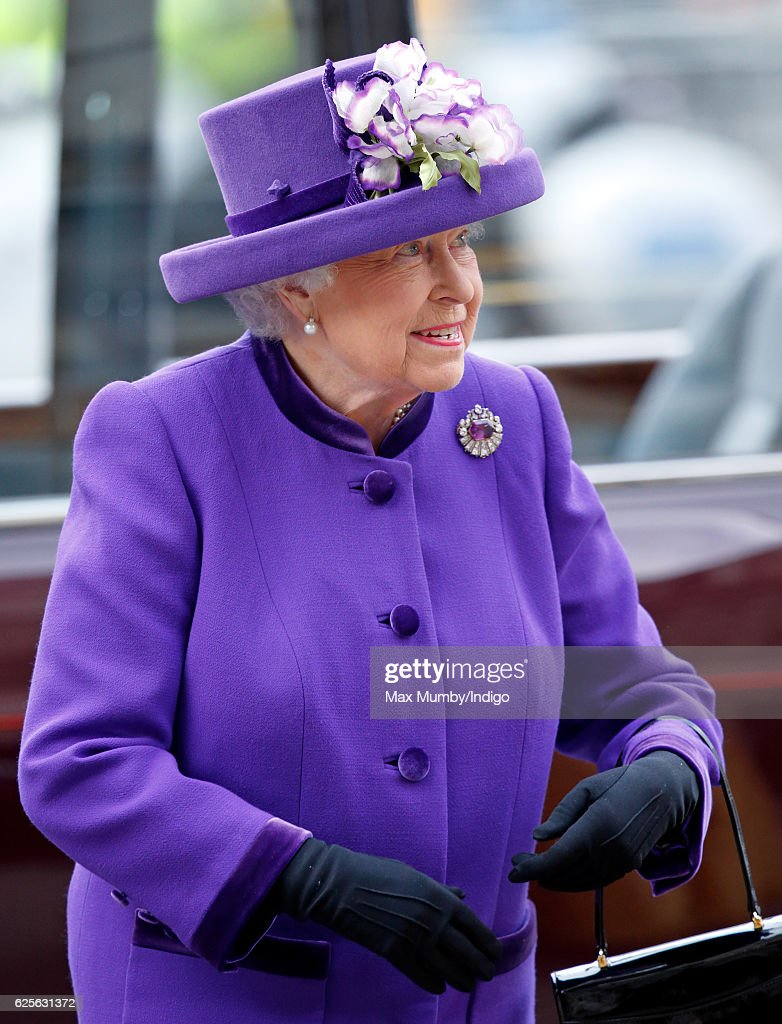 Queen Elizabeth II attends a Service of Thanksgiving to celebrate 60 years of The Duke of Edinburgh's Award at Westminster Abbey on November 24, 2016 in London, England.