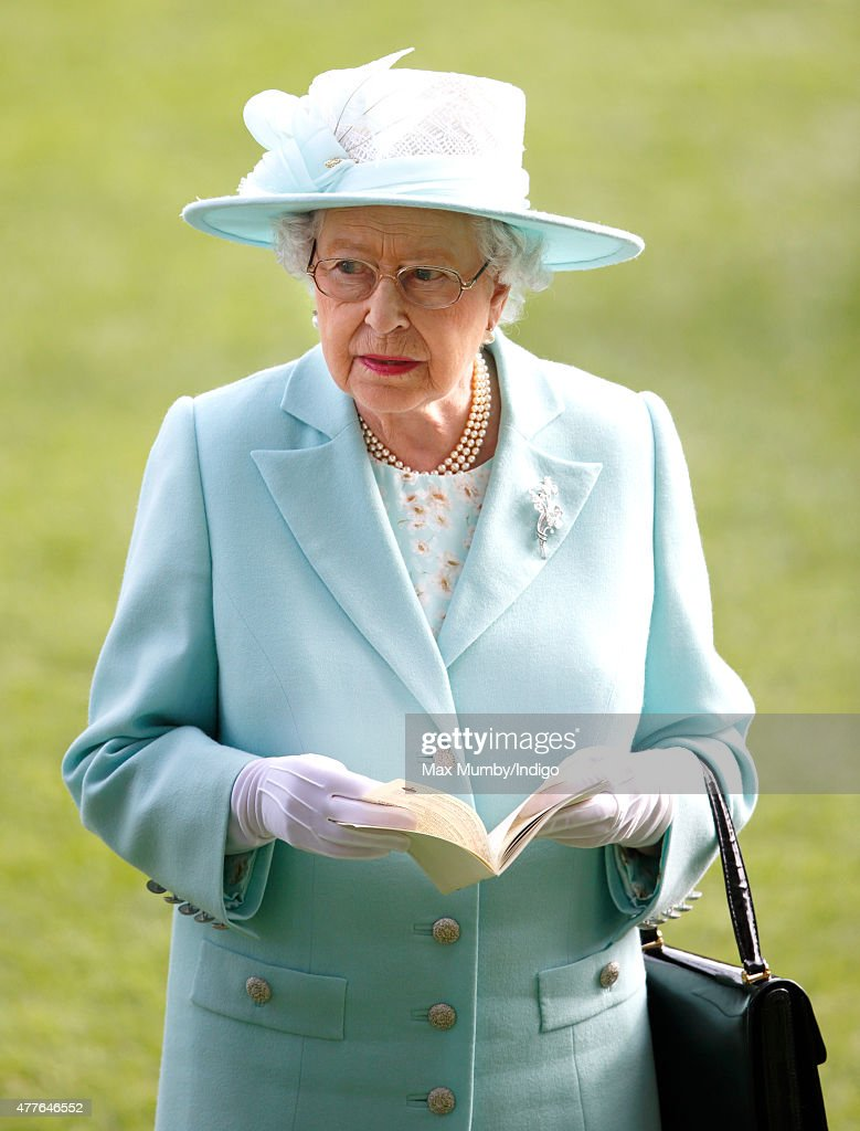 Queen Elizabeth II attends day 3, Ladies Day, of Royal Ascot at Ascot Racecourse on June 18, 2015 in Ascot, England.