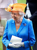 Queen Elizabeth II attends day 3 'Ladies Day' of Royal Ascot at Ascot Racecourse on June 16 2016 in Ascot England
