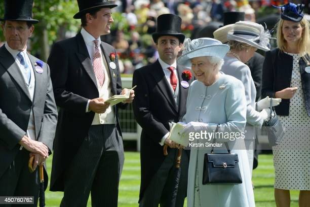 Queen Elizabeth II attends day one of Royal Ascot at Ascot Racecourse on June 17 2014 in Ascot England