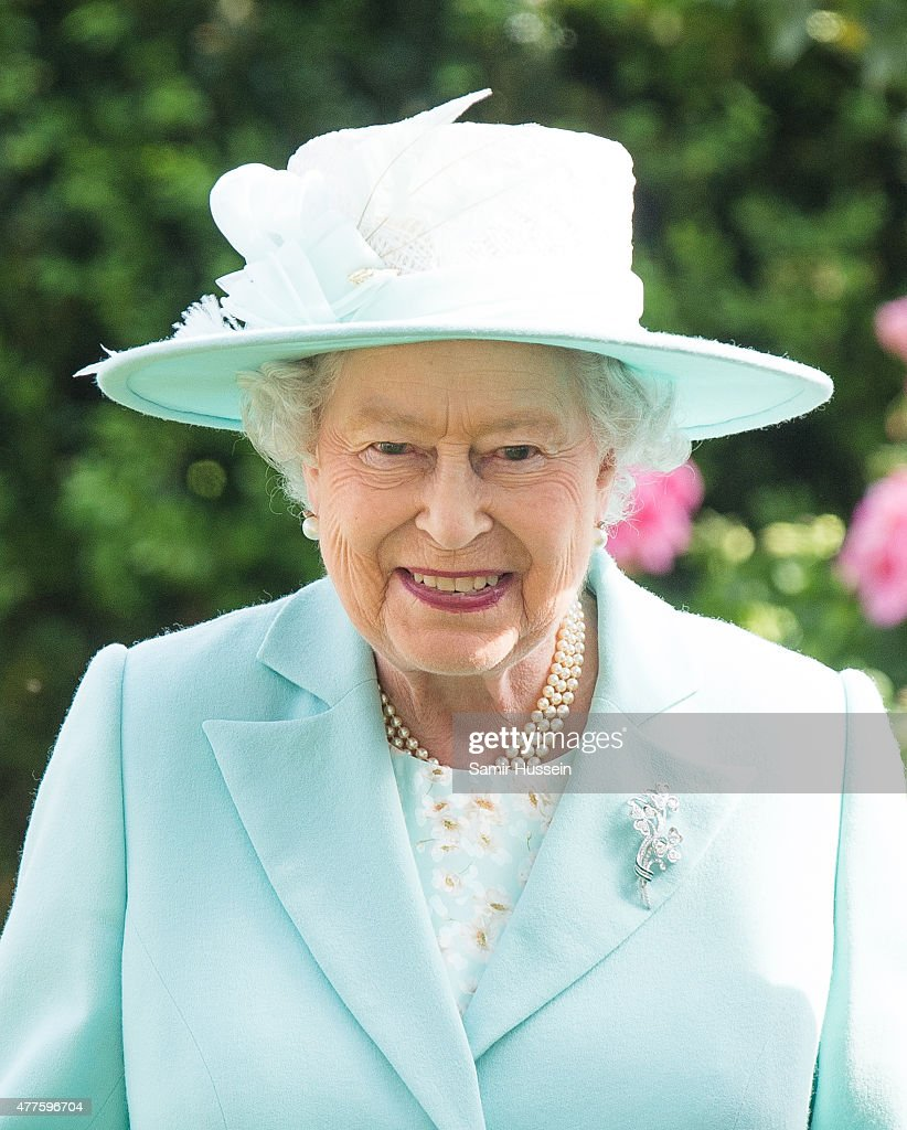 Queen Elizabeth II attends Ladies Day on day 3 of Royal Ascot at Ascot Racecourse on June 18, 2015 in Ascot, England.