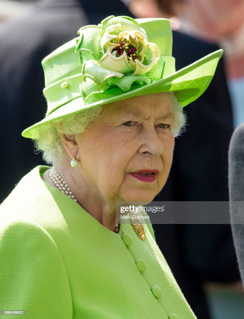 Queen Elizabeth II attends Royal Ascot 2017 at Ascot Racecourse on June 20, 2017 in Ascot, England.