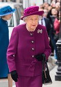 The Queen Attends The Anglo-Norse Society Centenary...