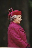 Queen Elizabeth II attends the Old Comrades' Parade at the Cavalry Memorial in Hyde Park London 21st May 1995