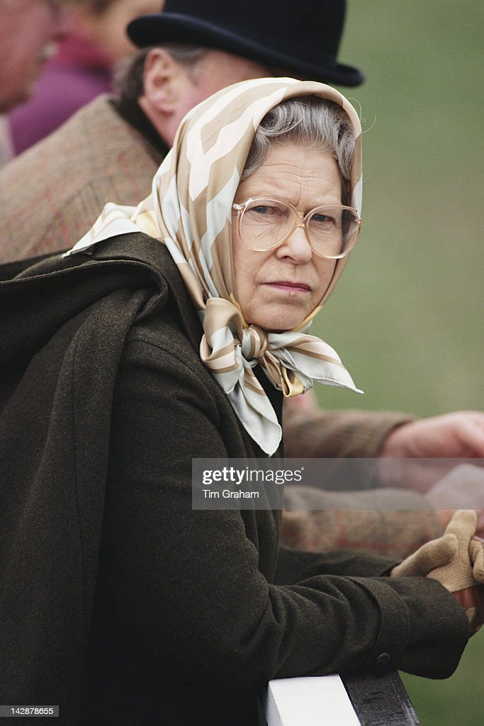 Queen <a gi-track='captionPersonalityLinkClicked' href=/galleries/search?phrase=Elizabeth+II&family=editorial&specificpeople=67226 ng-click='$event.stopPropagation()'>Elizabeth II</a> attends the Royal Windsor Horse Show at Windsor, May 1995.