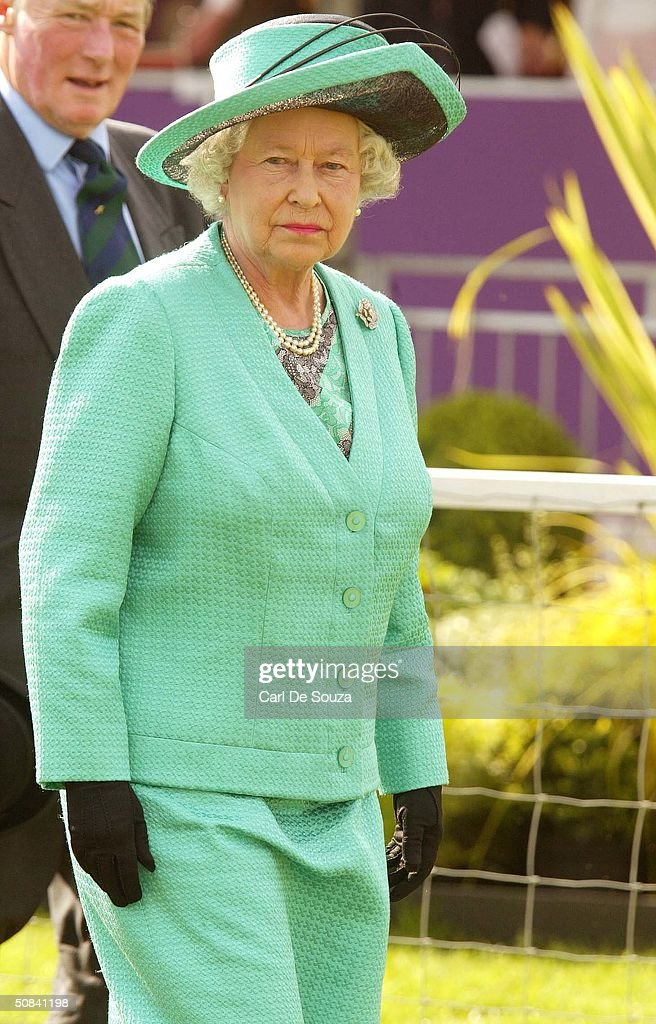 Queen Elizabeth II Attends The Third Day Of Royal Windsor Horse Show At Home Park