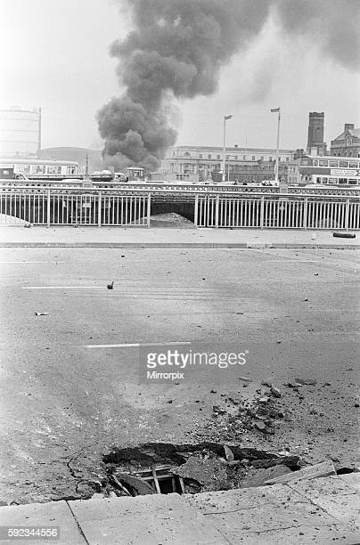 Queen Elizabeth II Bridge Belfast Northern Ireland 21st July 1972 Bloody Friday is the name given to the bombings by the Provisional Irish Republican...