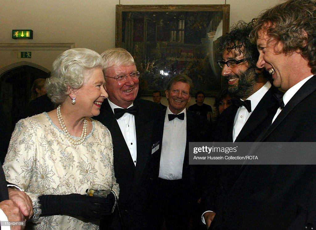 HM The Queen Elizabeth II Attends ITV's 50th Anniversary Celebration - October 13, 2005