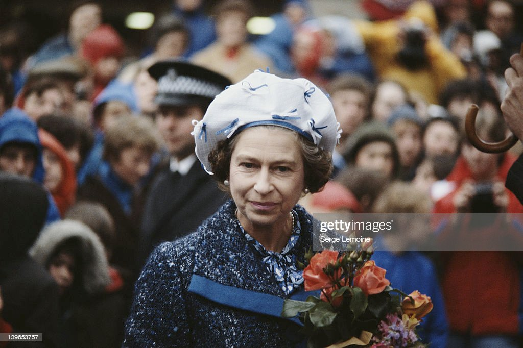 Queen <a gi-track='captionPersonalityLinkClicked' href=/galleries/search?phrase=Elizabeth+II&family=editorial&specificpeople=67226 ng-click='$event.stopPropagation()'>Elizabeth II</a>, circa 1980.