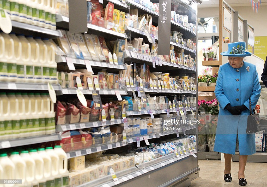 queen-elizabeth-ii-looks-at-products-on-the-shelves-at-a-waitrose-a-picture-id618566644