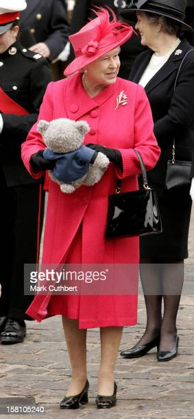 Queen Elizabeth Ii Meets Wellwishers During A Walkabout In Windsor Town Centre On Her 80Th Birthday
