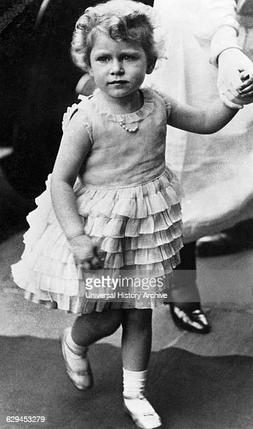 Queen Elizabeth II of United Kingdom as a child circa 1929