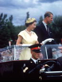 M Queen Elizabeth II Prince Philip during their tour to Australia