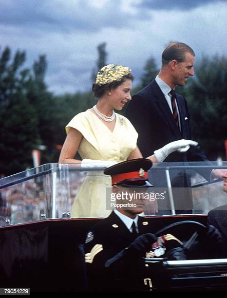 M Queen Elizabeth II Prince Philip during their tour to Australia