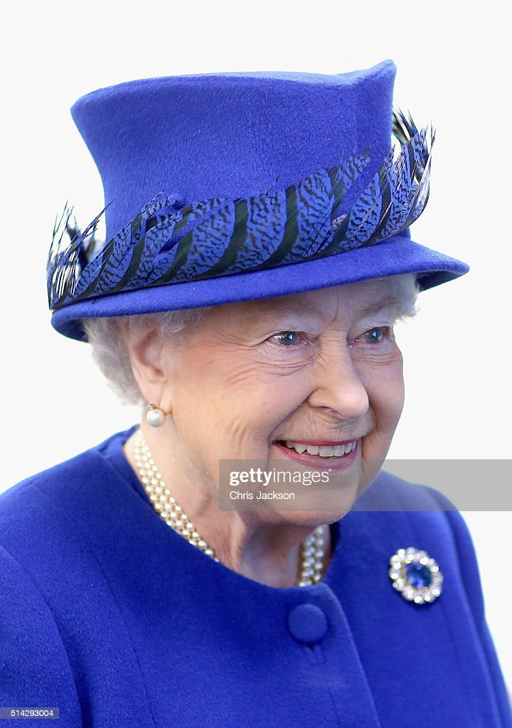 Queen Elizabeth II smiles as she meets people being helped by the Prince's Trust at the Prince's Trust Centre in Kennington on March 8, 2016 in London, England. The Queen was visiting the Centre with Prince Charles, Prince of Wales to mark the 40th Anniversary of the Prince's Trust. TRH's saw the impact the Prince's Trust has on young people and heard about the six programmes run by the Trust to help disadvantaged young people ages 13 to 30 to get into education and employment.