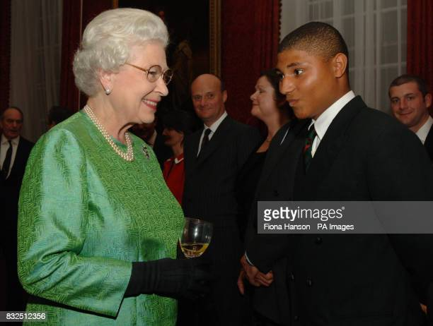 Queen Elizabeth II to Kevin Williams the youngest rifleman in the 1st Battalion Royal Green Jackets who is awaiting his 18th birthday before he can...