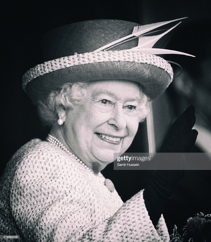 Queen Elizabeth II visits Lancaster Castle on May 29, 2015 in Lancaster, England.