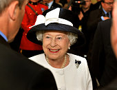 Queen Elizabeth II visits the Canadian combined forces base on June 29 2010 in Halifax Nova Scotia Canada Dozens of foreign ships gathered as part of...