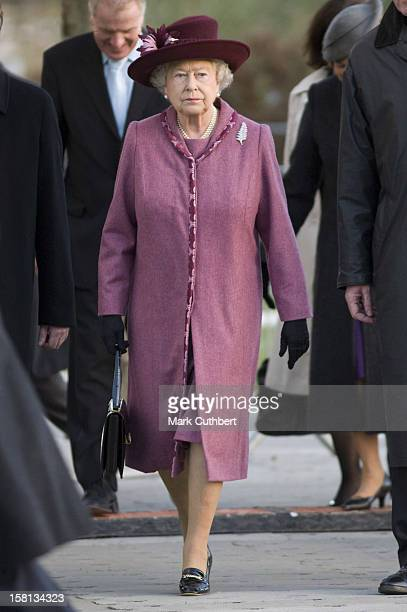 Queen Elizabeth Ii Visits The New Zealand 'Giant Rugby Ball' At Tower Bridge London Her Majesty And His Royal Highness Were Greeted By The New...