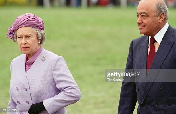 Resultado de imagen para mohamed al fayed queen elizabeth