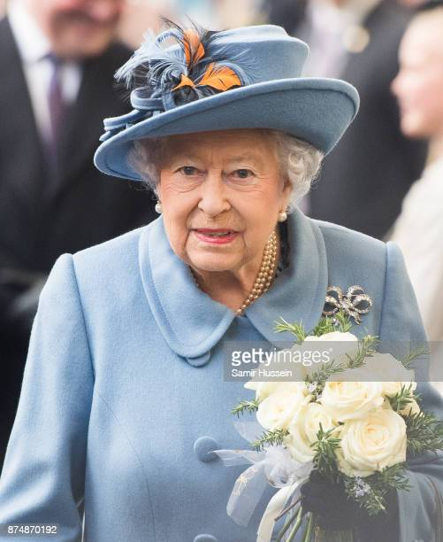 Queen Elizabeth II XXXX on November 16 2017 in Kingston upon Hull England