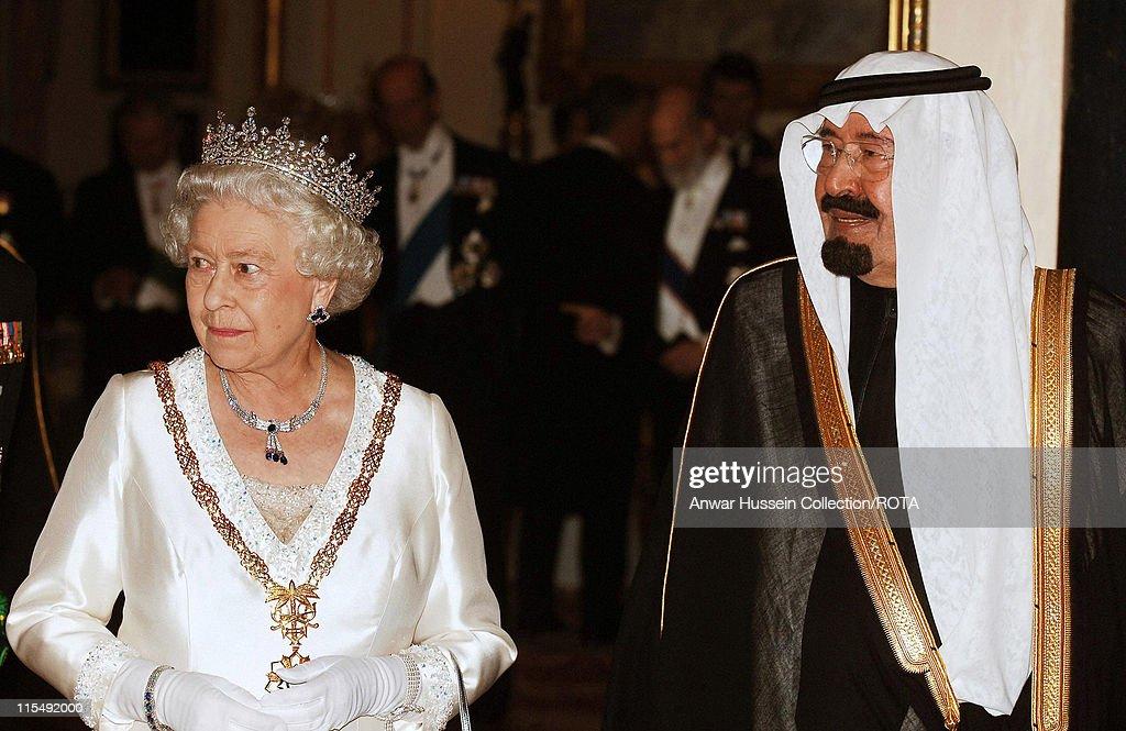 King Abdullah of Saudi Arabia State Visit - Day 1