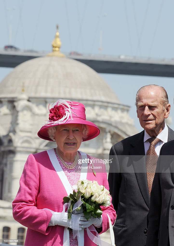 Queen Elizabeth ll and Prince Philip, Duke of Edinburgh visit Istanbul on the third day of their State Visit to Turkey on May 15, 2008 in Istanbul, Turkey. Queen Elizabeth II and Prince Philip, Duke of Edinburgh are in Ankara for a four day state visit to Turkey, the Queen's first visit to Turkey for 37 years.