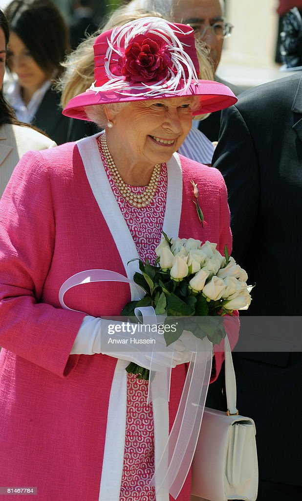 Queen Elizabeth ll visits Kabatas school on the third day of a State Visit to Turkey on May 15, 2008 in Istanbul, Turkey.