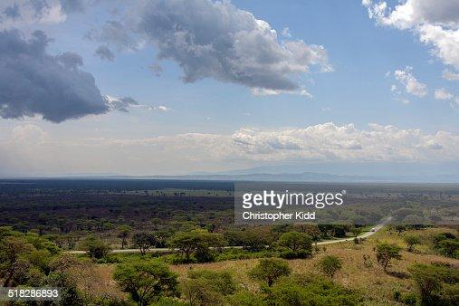Queen Elizabeth National Park, Uganda : Stock Photo