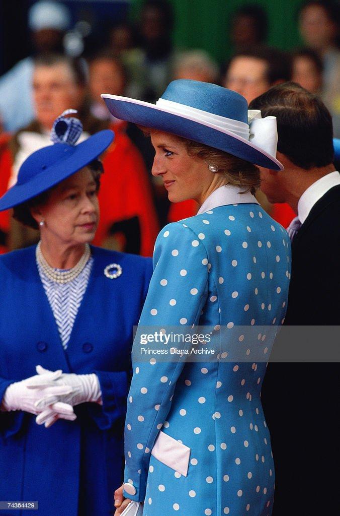 princess diana and queen elizabeth relationship