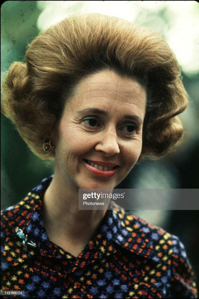 Queen Fabiola of Belgium © Photo News
