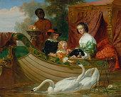 Queen Henrietta Maria of England by Frederick Goodall