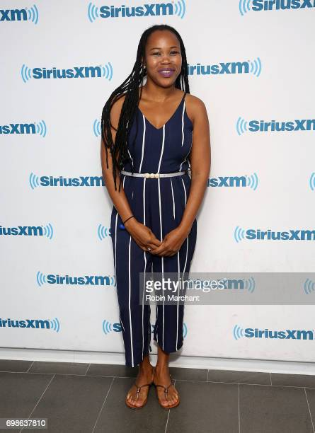 Queen Ifrica visits at SiriusXM Studios on June 20 2017 in New York City