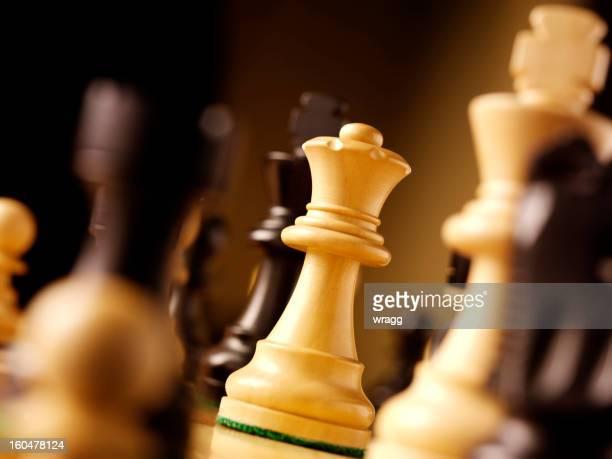 Mit Queen-Size-Bett in einer Partie Schach