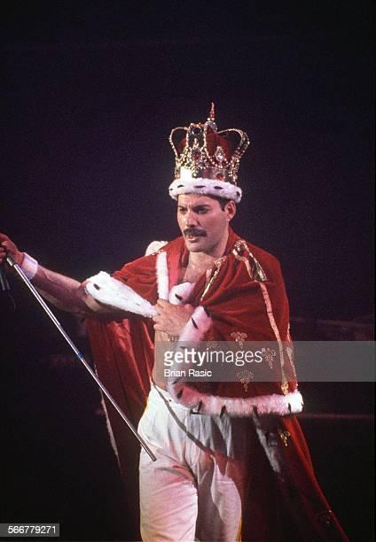 Queen In Concert In Brussels Belgium 1986 Freddie Mercury