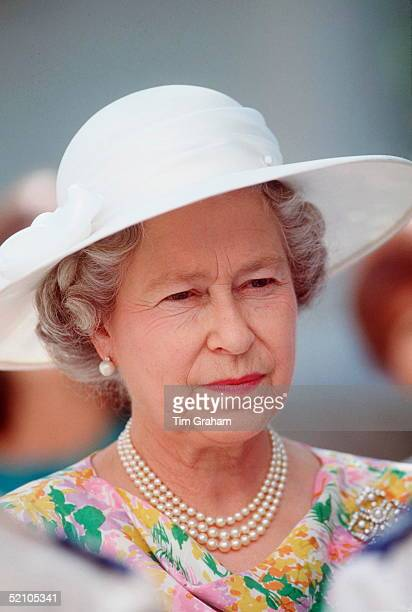 Queen In Cyprus For An Official State Visit