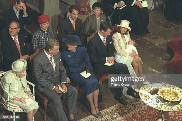 Queen Ingrid Margrethe HenrikJoachimAlexandra and Nicolai AnneMarie and Nicholas of Greece