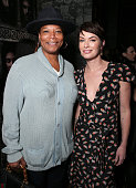 Queen Latifah and Lena Headey attend the after party for the premiere Of HBO's 'Game Of Thrones' Season 6 at the Roosevelt Hotel on April 10 2016 in...