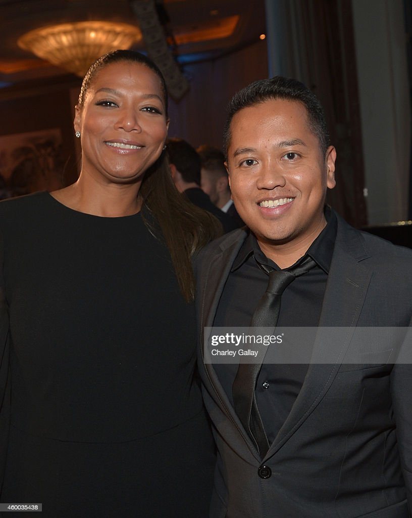 <a gi-track='captionPersonalityLinkClicked' href=/galleries/search?phrase=Queen+Latifah&family=editorial&specificpeople=171793 ng-click='$event.stopPropagation()'>Queen Latifah</a> and <a gi-track='captionPersonalityLinkClicked' href=/galleries/search?phrase=Rembrandt+Flores&family=editorial&specificpeople=693163 ng-click='$event.stopPropagation()'>Rembrandt Flores</a> attend the 6th Annual Night of Generosity Gala presented by generosity.org at the Beverly Wilshire Four Seasons Hotel on December 5, 2014 in Beverly Hills, California.