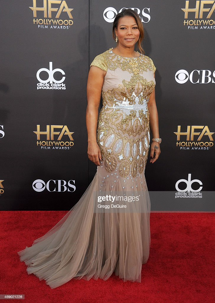 Queen Latifah arrives at the 18th Annual Hollywood Film Awards at The Palladium on November 14 2014 in Hollywood California