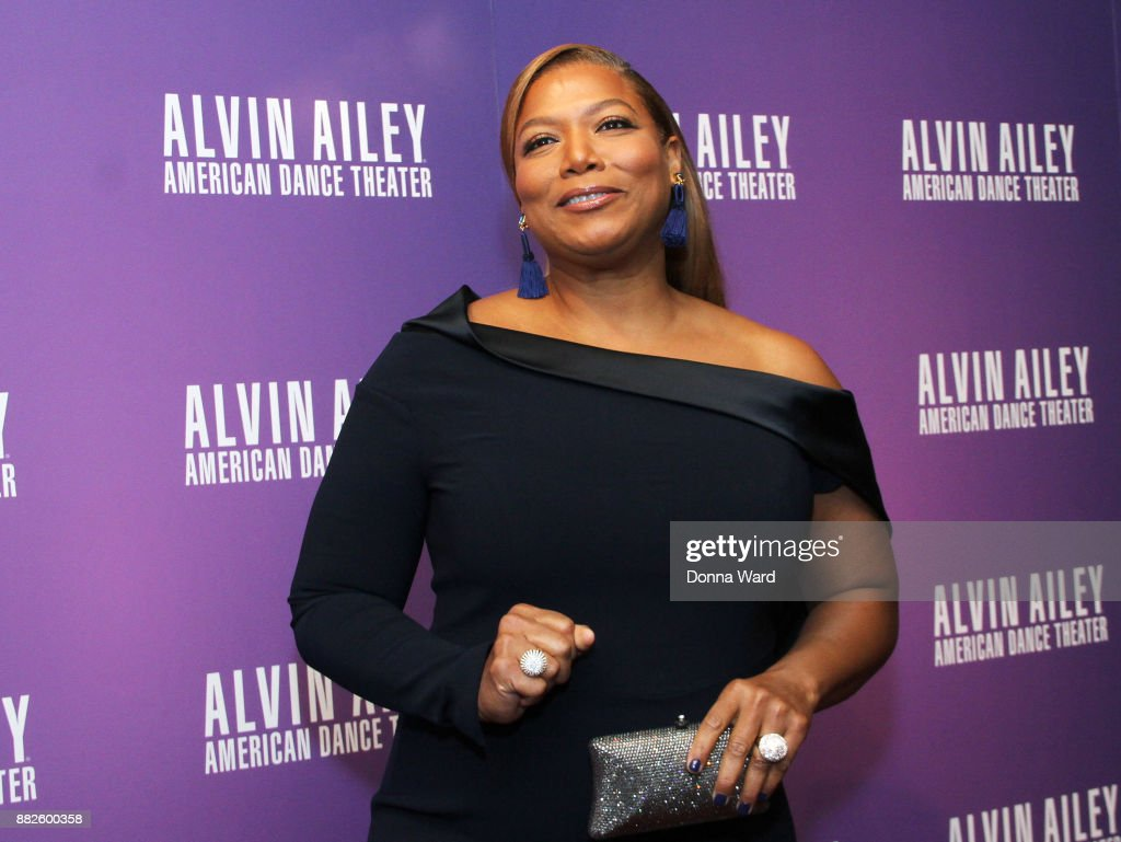 Queen Latifah attends Alvin Ailey's 2017 Opening Night Gala at New York City Center on November 29, 2017 in New York City.