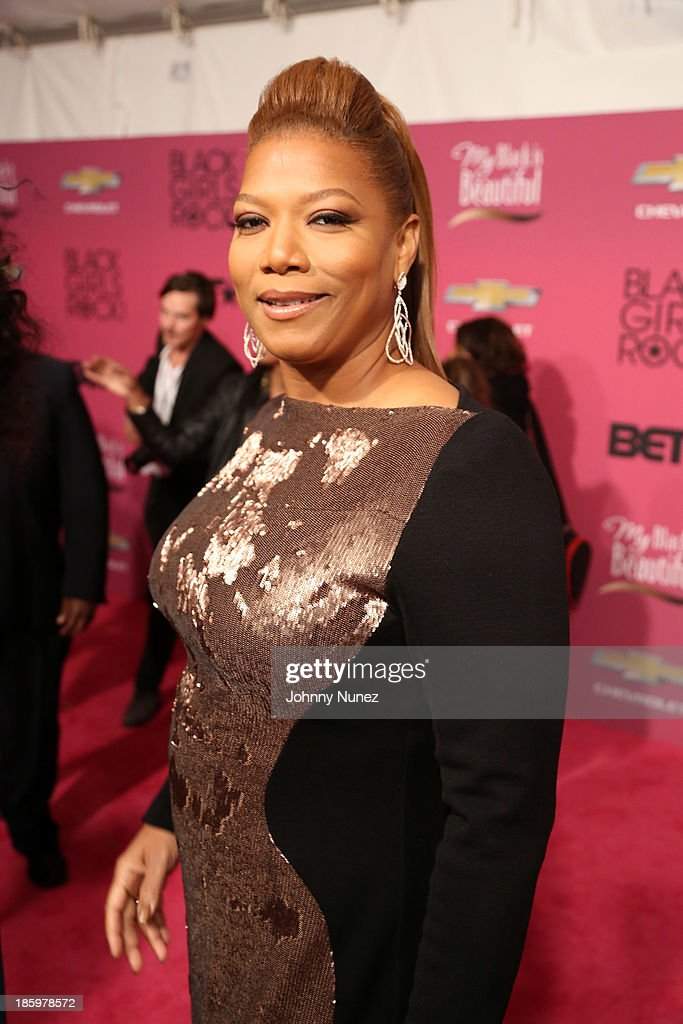 <a gi-track='captionPersonalityLinkClicked' href=/galleries/search?phrase=Queen+Latifah&family=editorial&specificpeople=171793 ng-click='$event.stopPropagation()'>Queen Latifah</a> attends Black Girls Rock! 2013 at New Jersey Performing Arts Center on October 26, 2013 in Newark, New Jersey.