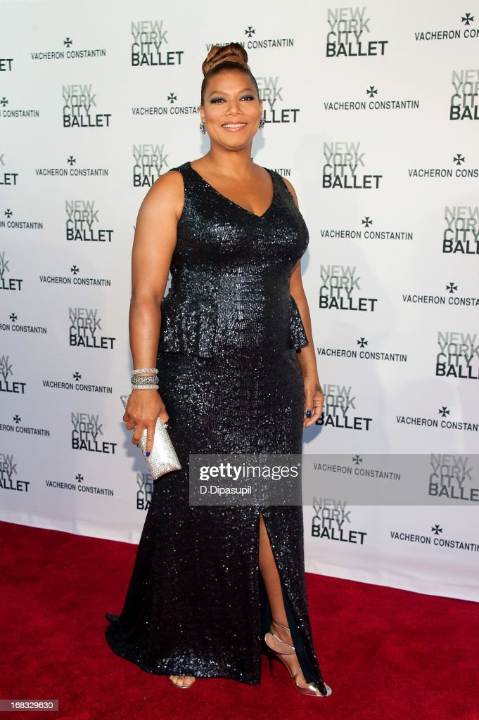 Queen Latifah attends New York City Ballet's Spring 2013 Gala at David H. Koch Theater, Lincoln Center on May 8, 2013 in New York City.