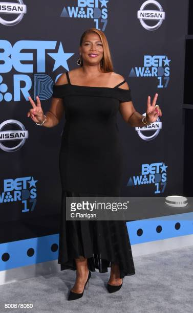 Queen Latifah attends the 2017 BET Awards at Microsoft Square on June 25 2017 in Los Angeles California
