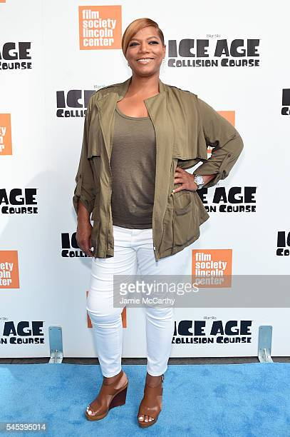 Queen Latifah attends the 'Ice Age Collision Course' New York screening at Walter Reade Theater on July 7 2016 in New York City