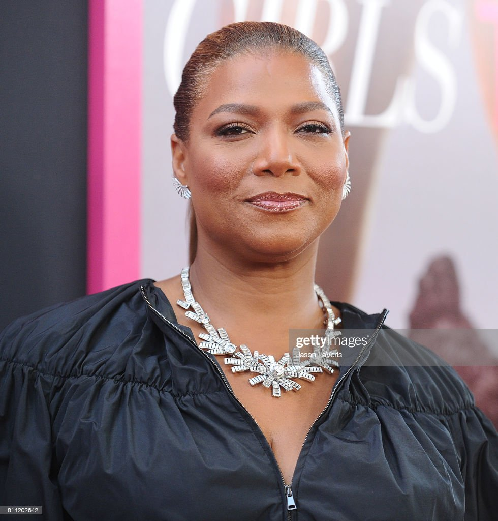 Queen Latifah attends the premiere of 'Girls Trip' at Regal LA Live Stadium 14 on July 13, 2017 in Los Angeles, California.