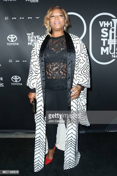 Queen Latifah attends the VH1 Save The Music 20th Anniversary #TurnItUpTo20 Gala at SIR Stage37 on October 16 2017 in New York City